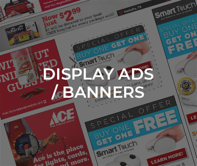 display ads / banners
